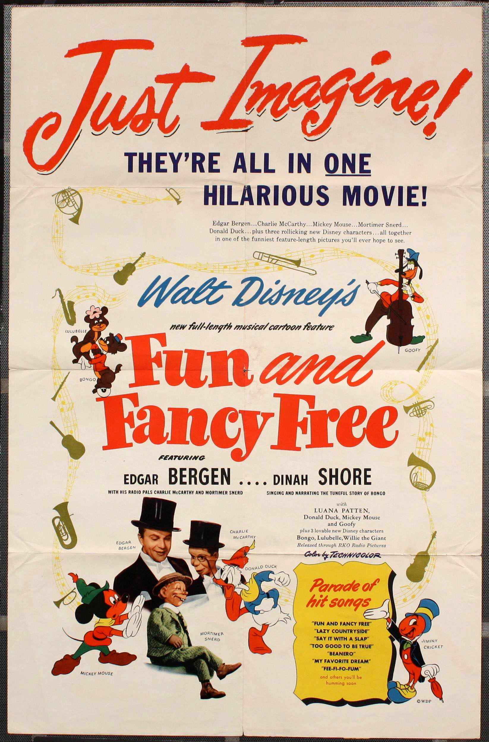Image result for fun and fancy free poster